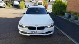 2012 BMW 320D - 62 Plate NEW SHAPE - 2.0 Turbo Diesel - White - £20 Tax per Year - 1 owner - MOT