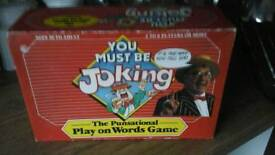 You must be joking board game