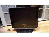 "Soundwaves 19"" lcd tv with dvd player"