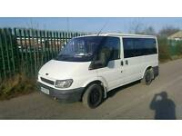 Ford tourneo 2002 10 month mot, 9seater