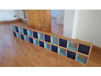 Glass Block Tiles - Art Deco Style - Excellent Condition