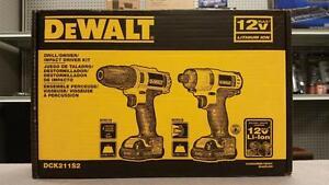 DeWALT 12V Drill and Impact Driver Combo Set