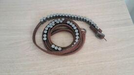 Long leather belt like Allsaints