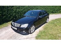 Rare manual Mercedes W204 C250 CDI Sport AMG, new clutch and flywheel, recent service, full leather