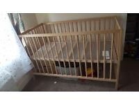IKEA baby cot 60x120