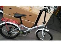 Universal folding bike mint condition new