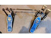Big Dog Professional Double Bass Pedal ONO
