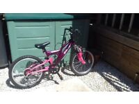 Girls bike for ages 9-10 years