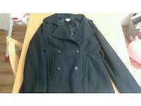 Black maternity jacket medium