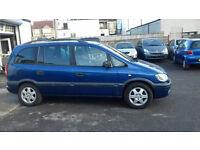 Vauxhall Zafira 2.2 2002