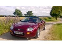 MGF 75th Anniversary LE #1082 - Mulberry Red For Sale (1999)