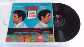 Elvis Presley Soundtrack Double trouble - Rare red spot album