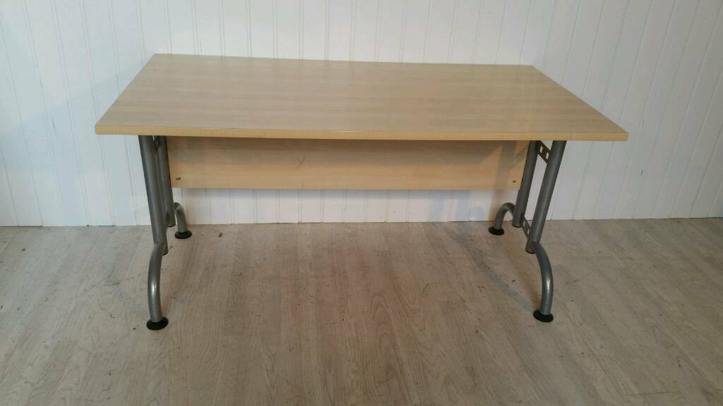 Pending Collection Beech Office Desk