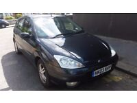 Ford focus 1.6 manual tax and mot