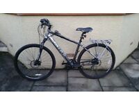 Electric Bike - Gents Carrera Mountain / Bafang BBS01 Mid (Crank) Drive, 17Amp Hour Battery
