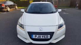 2011 Honda CR-Z 1.5 IMA Sport PETROL/ELECTRIC black Manual low mileage similar to megane scirocco