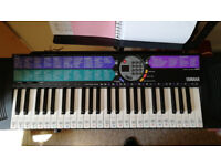 Yamaha Electric Keyboard + Musicmaker, with stand and power supply