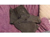 Girls grey school shorts