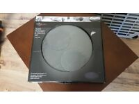 Slate Placement and Coaster Set - Circular - brand new, unused, only £5