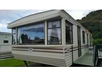 Static caravan off site sale