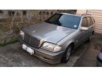 year 2000 mercedes 180c breaking