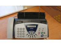 Brother FAX-T104 fax machine/telephone