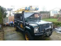 Land Rover 110 LWB Country Station Wagon TD5 LHD