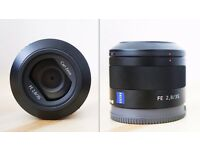 Sony Carl Zeiss Sonnar T* FE 35mm f/2.8 ZA