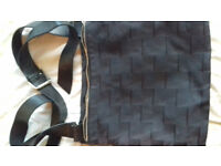 Harvey Nichols black shoulder/cross body bag