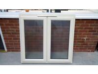Cream Upvc Window, NEW