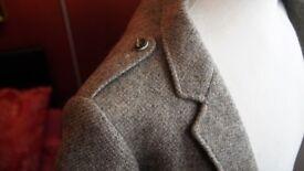 Stunning Boy's Genuine Wool Tweed Argyle Kilt Jacket Handcrafted in Scotland By Cooper & Mckenzie