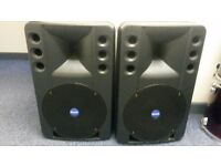 Mackie Industrial ART 300 Speaker System. 300 Watts PA / Band / DJ Speakers