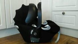 Mama's & Papa's Cybex Aton Platinum car seat, fits lots of pram, pushchairs