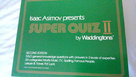 isaac asimov's super quiz board game second edition