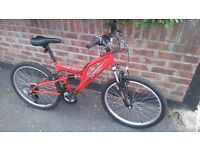 Junior Trax Mountain Bike in excellent condition