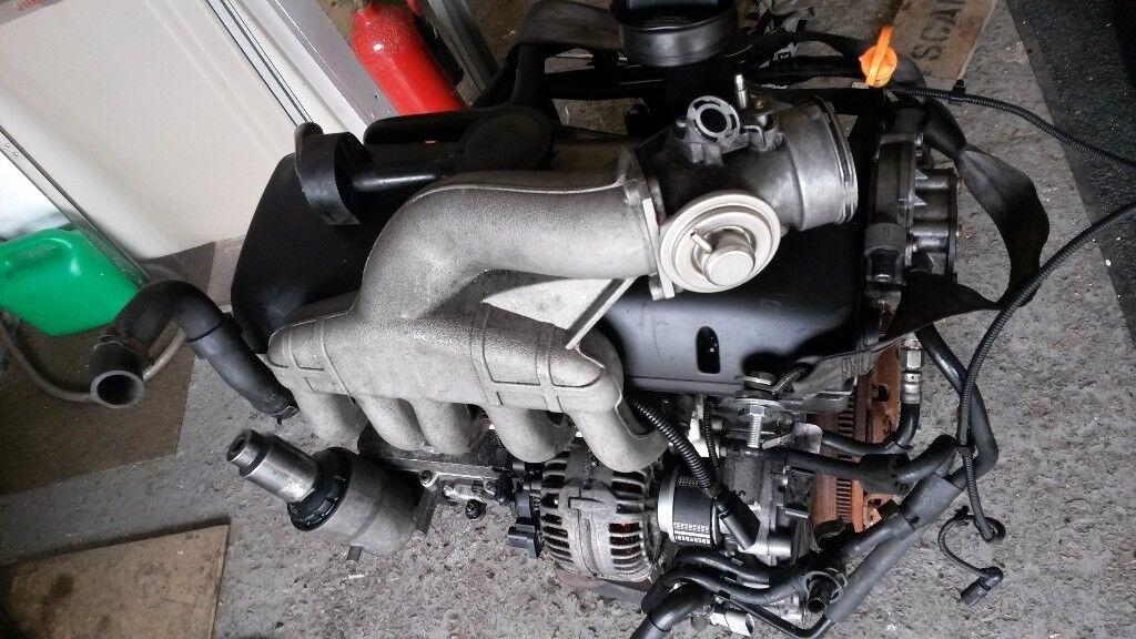 Vw T5 2 5 Tdi Axd 5 Cylinder Engine 50k Genuine Mileage