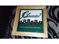 CLUEDO WOODEN BOX BOARD GAME