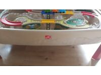 Car track with lid in excellent condition
