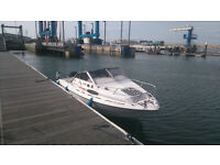Fletcher Faro 18ft with 115HP Yamaha V4 2 Stroke boat and engine 94 hours running from new