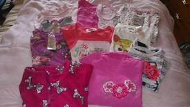 4-5years girl clothes bundle