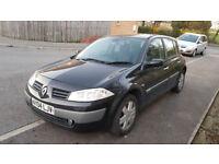 Renault Megane 1.6 2004 1 Month MOT Left Spares or Repair