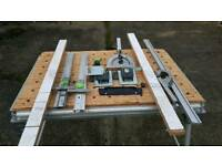 Festool mft 3 table with assecories