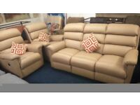 Brand new!! LAZ- BOY 3 Seater sofa plus 2 electric recliner chairs*Light tan*