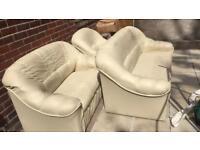 Free sofas/settees 3 piece