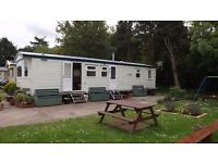 Haggerston castle, three bedroom caravan, sleeps six persons. summer holiday dates available