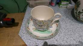 Burgess and Leigh cup and saucer
