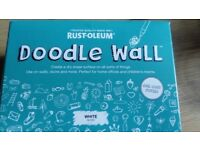 Doodle wall paint
