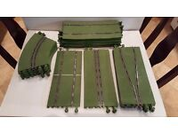 Scalextric horse newmarket green track, 24 pieces. Only £35.
