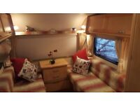 Baily Ranger 2 berth caravan with motor moverfor sale.