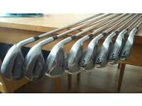 Srixon Golf irons and ping wedges
